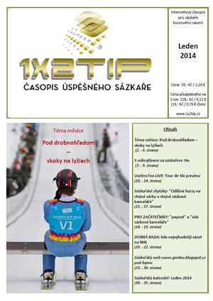Časopis 1X2tip - LEDEN 2014