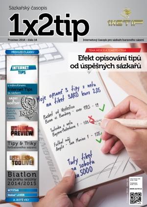 Časopis 1X2tip - PROSINEC 2014