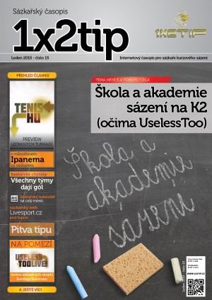 Časopis 1X2tip - LEDEN 2015