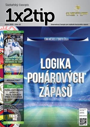 Časopis 1X2tip - SRPEN 2015