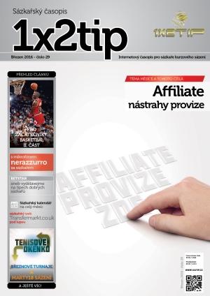 Časopis 1X2tip - BŘEZEN 2016
