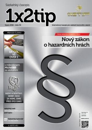 Časopis 1X2tip - SRPEN 2016