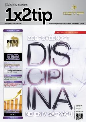 Časopis 1X2tip - LISTOPAD 2016
