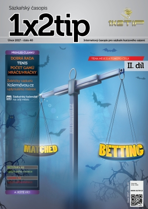 Časopis 1X2tip - ÚNOR 2017