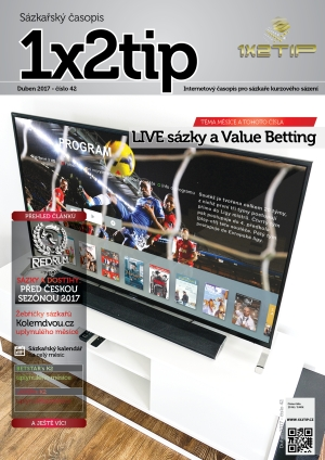 Časopis 1X2tip - DUBEN 2017