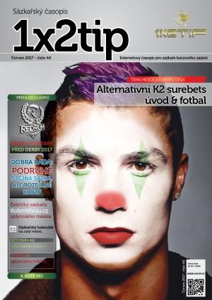 Časopis 1X2tip - ČERVEN 2017